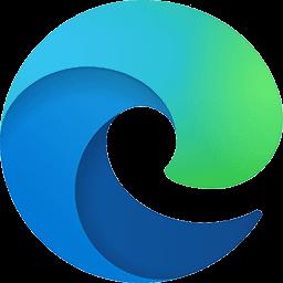 The new Microsoft Edge Browser logo